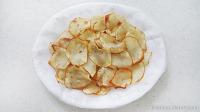 직접 튀겨서 만들어본 감자칩!
