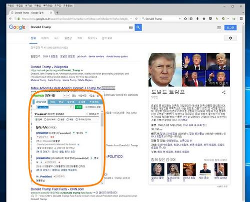 파이어폭스 부가기능 네이버 영어 사전 Naver English Dictionary (Unofficial)