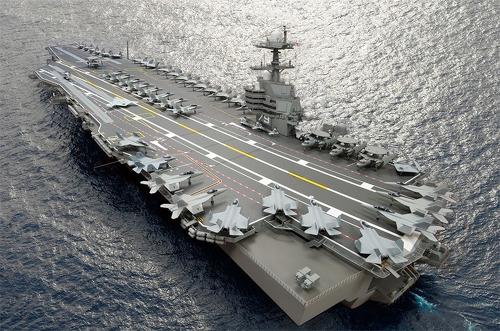미 해군의 최신 항공모함이 자랑하는 첨단 기술 7가지