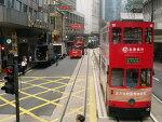 홍콩섬 트램 Tram 노선도 (2017년 업데이트)