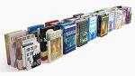 100가지의 다양한 3D 책 모형