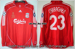 06/07 Liverpool Home L/S No.23 Carragher UCL Final Player Issued (SOLD OUT)