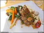 푸아그라와 양고기 (마고성의 맛집)
