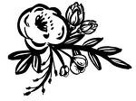 스텐실로 사용하기 좋은 간단한 꽃 디자인 :: 이주의 무료 도안 :: 실루엣 코리아 카메오 3 포트레이트 큐리오 자이론