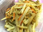 묵혀 놓았던 감자로 만드는 기본반찬 / 감자채 볶음 만들기 레시피