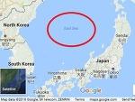 구글맵 사용시 동해 표기
