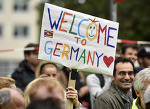 난민을 환영하는 유럽  /  Welcome to Europe