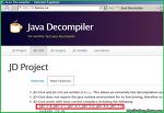 JD-GUI, 손쉽게 구하는 윈도우용 공개 무료 GUI 자바 디컴파일러(Java Decompiler, JD, JAD)