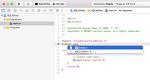 Objective-C에서 SQLite 사용 예제