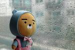 [일상 / 장마시작] rainy spell in summer # 장마 # FILA X PUBG 배틀그라운드 2018