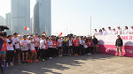 2018 핑크런 단축마라톤 대회 개최