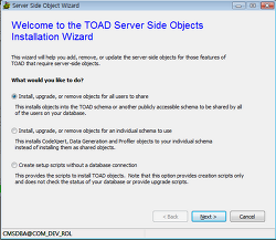 Toad TeamCoding - Integration with SubVersion - part1