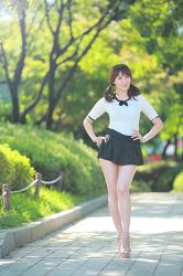 청순 청순 청순한 그녀 ~~ MODEL: 연다빈 (9-PICS)