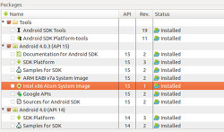안드로이드 에뮬레이터를 위한 인텔 x86 시스템 이미지 공개