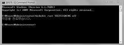 윈도우7 테스트모드