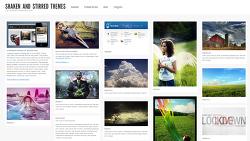 사진가를 위한 블로그 스킨 (이런 스킨을 만들고 싶다!)