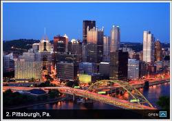 가장 살기 좋은 미국 도시