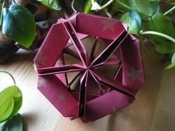 구조물 유니트 종이접기 동영상입니다. 사용된 종이 사이즈 7.5cm x 7,5cm