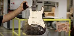 락밴드 린킨파크(Linkin Park)도 인정한 골판지/카드보드(Cardboard) 일렉기타(Guitar), 펜더(Fender) 스트라토캐스터(Stratocaster)