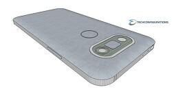 LG G5 디자인에 관한 3D 렌더 동영상
