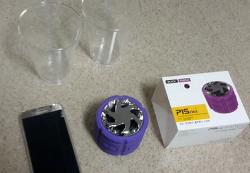 블루투스 방수 스피커를 이용한 소리의 진동 실험