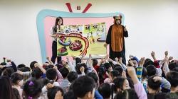 유한킴벌리 '찾아가는 어린이 동화 교실' 오픈