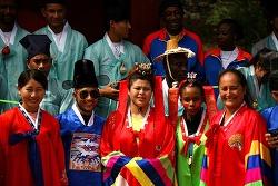 외국 태권도 선수들의 우리 문화 체험, 무주향교