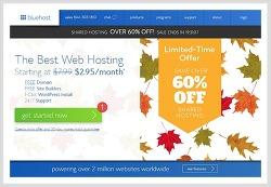 저렴한 해외웹호스팅 블루호스트 Bluehost 가입방법