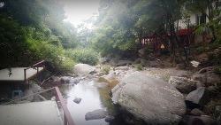 양평 옥천 용천 사나사 계곡 펜션 훼미리파크