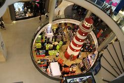 방콕 수쿰빗 쇼핑센터 터미널21의 나라별 체험