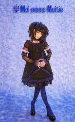 애니메이션이나 게임등에서 자주 볼 수 있는 로리타 패션