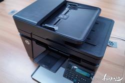 HP 레이저젯 프로 MFP M127fn, ePrint 가능한 스마트 복합기