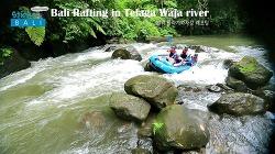 [스티커 in 발리] 발리 래프팅엔 뭔가 특별한 것이 있다? 뜰라가와자 강(Telaga Waja river) 래프팅 체험!