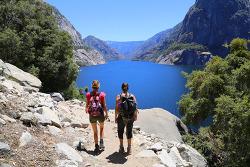 헤츠헤치 지역 와파마폭포(Wapama Falls) 트레일과 <요세미티와 존뮤어트레킹>의 마지막 캠핑
