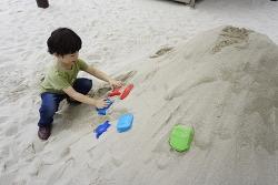 에버랜드에 모래 놀이터가 있다?!