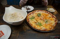 비 오면 생각나는 부평 맛집! 짬뽕과 피자를 한번에 즐길 수 있는 뽕신 인더스트!