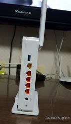 기가와이파이를 지원하는 유무선 공유기 A5004NS(ipTIME) 사용후기