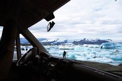 아이슬란드 캠핑카 여행 6 일차 - 요쿠살론 빙하호수 (Jokulsarlon) / 스바르티폭포 (Svartifoss) /  스카프타펠 국립공원 캠핑장 (Skaftafell)