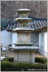 충남 아산 관음사석탑