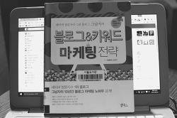 블로그에 대한 팁이 많은 책 블로그&키워드 마케팅 전략