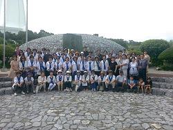 대한성공회 일본성공회 방문단, 화해와 평화의 메시지 전해