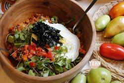 맛의 비밀이 숨은 초간단 토마토 비빔밥