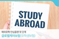 해외유학 안심플랜 첫 단계 '글로벌케어보험(유학생보험)'