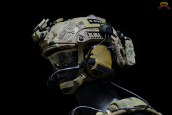 [헬멧] 75th Ranger Regiment 2015 Helmet loadout.