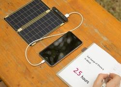 세계에서 가장 얇은 태양광 충전기 Solar Paper 구입