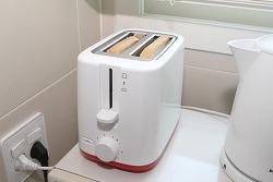 필립스 토스터기 HD2595 한살림 빵굽기