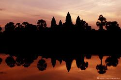 캄보디아의 랜드마크 앙코르와트