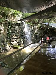 [여행]장흥 계곡 해뜨는 집 물놀이