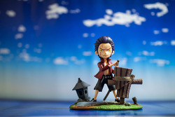 one piece duracule mihawk childhood by f.o.c / 원피스 쥬라큘 미호크 유년기 by f.o.c