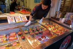 [여행일기] 어쩌면 도쿄 여행의 이유... 츠키지 시장의 아침 풍경 (그리고 우니동!)